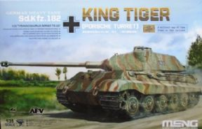 MNGTS-037 1/35 Sd.Kfz.182 King Tiger (Porsche Turret)